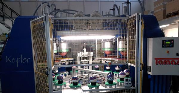 Macchina per stampa palloni in quadricromia
